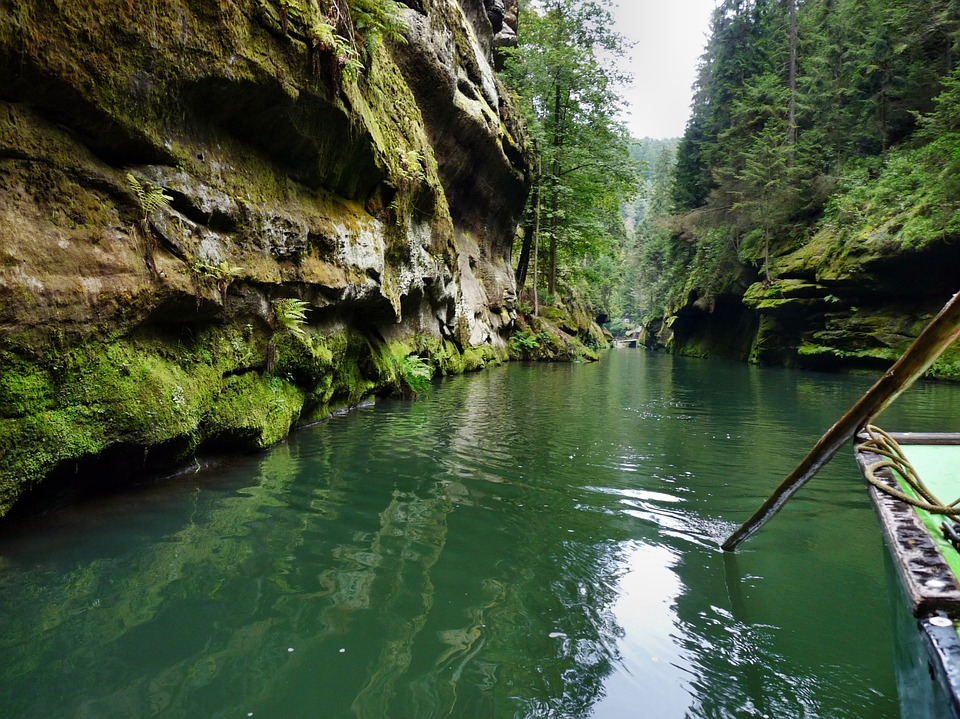 Bohemian Switzerland gorges