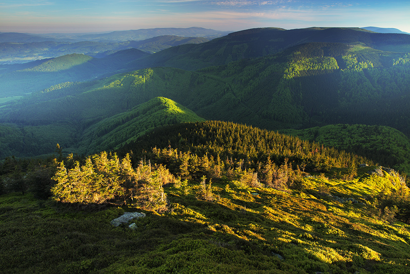 Jeseniky mountains