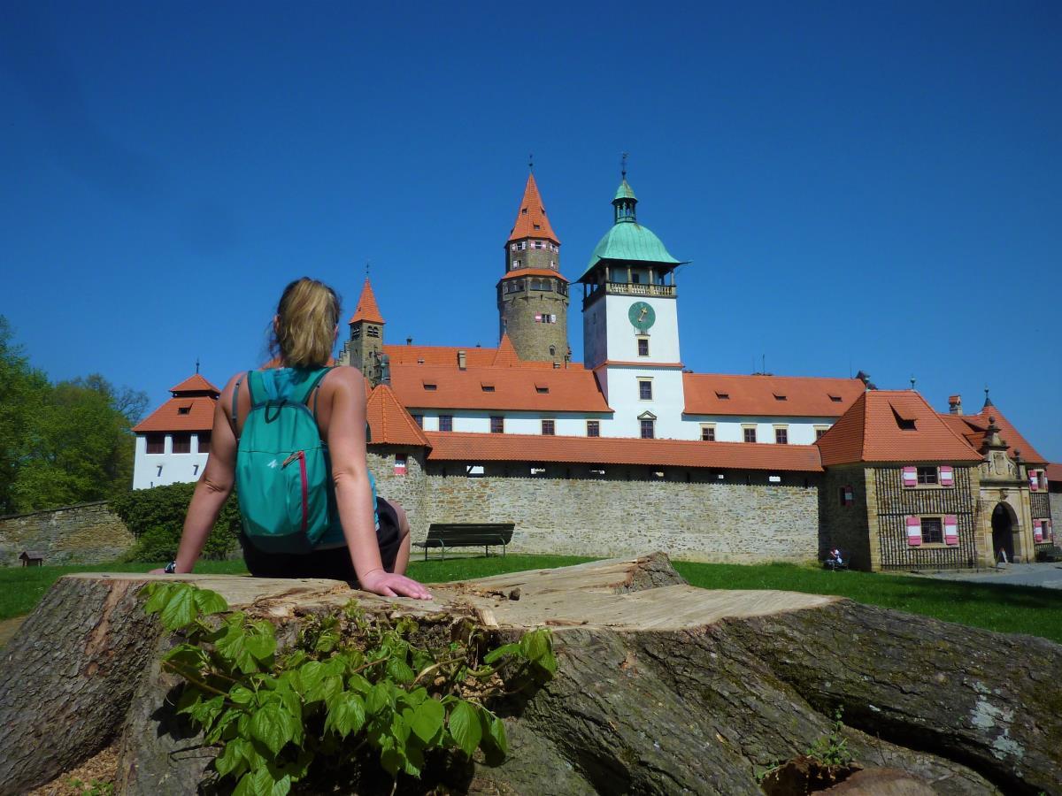 Fairy tale Bouzov castle