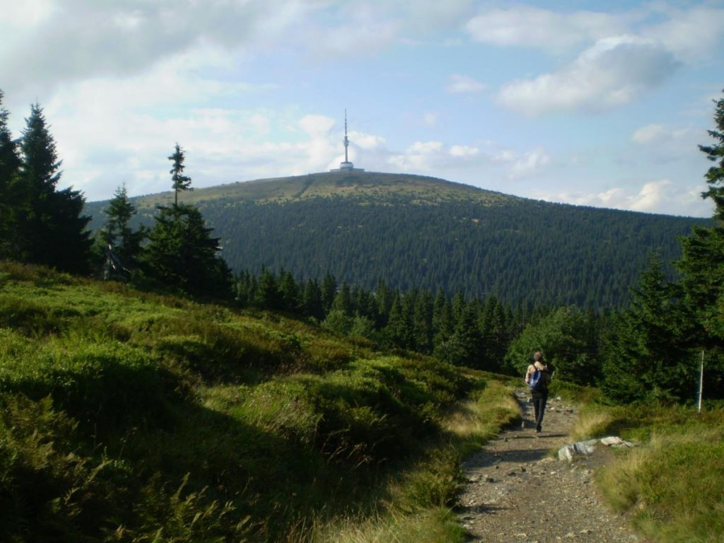 Jeseniky mountains